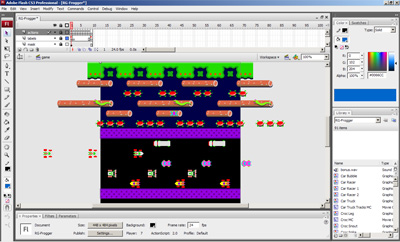 Frogger Development